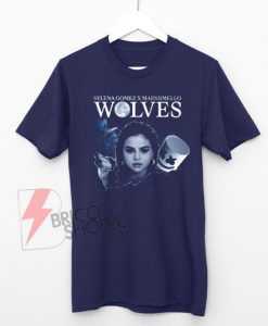 wolves-selena-gomez-marshmello-Shirt-On-Sale