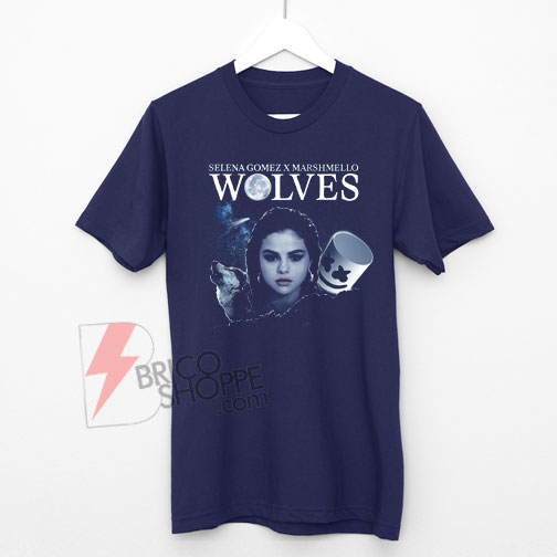 wolves-selena-gomez-marshmello-Shirt-On-Sale