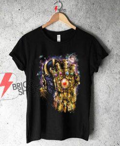 On Sale - Thanos Infinity Gauntlet Shirt , Avenger Shirt