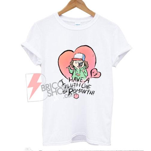 On Sale - Valentine Shirt Stranger Things