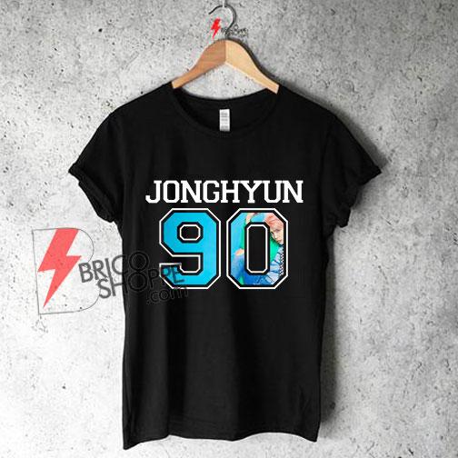 SHINee---Jonghyun-90-Shirt-On-Sale