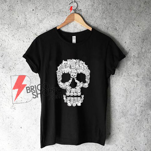 Skulls are for miau Shirt On Sale
