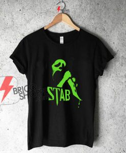 Stab Mask knife 90s slasher funny Shirt On Sale