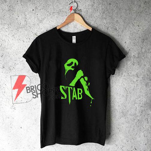 Stab Mask knife 90s slasher funny Shirt On Sale