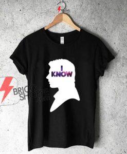 Star Wars Han IKnow Shirt On Sale