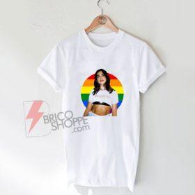 DUA LIPA homo Rainbow Shirt On Sale