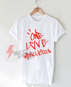 Ariana's-one-love-Manchester-T-Shirt-On-Sale