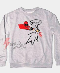 Deadpool-Ouchie-Sweatshirt-On-Sale