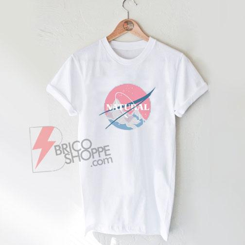 Natural-Nasa-Logo-Shirt-On-Sale