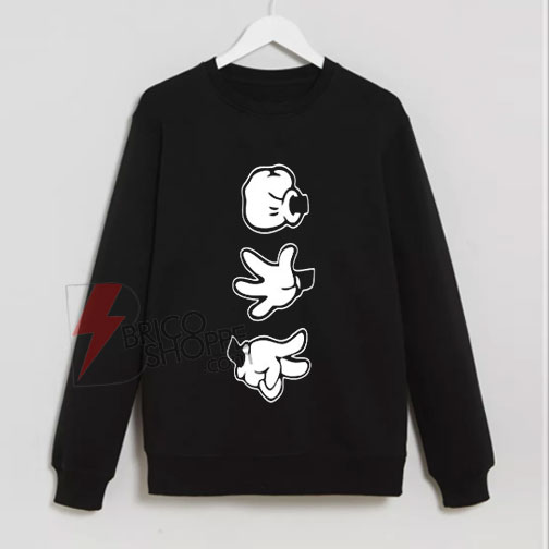 Rock-Paper-Scissors-Hand-mickey-Mouse-sweatshirt-On-Sale