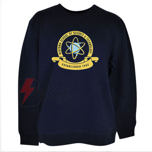 Spider-Peter-t-shirt-with-the---Midtown-School-of-Science-&-Technology-sweatShirt-On-Sale