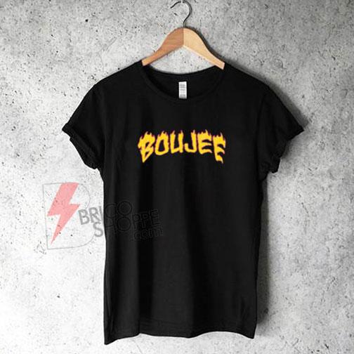 Boujee-on-fire-T-shirt-On-Sale