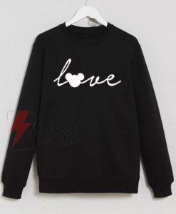 Love-Mickey-Mouse-Disney-Sweatshirt-On-Sale