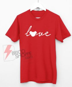 Love-Mickey-Mouse-Disney-T-Shirt-On-Sale