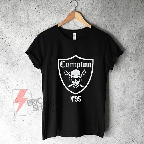 Compton Raiders 1995 Eazy E T-Shirt On Sale