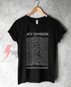 Joy Division Unknown Pleasures Shirt On Sale