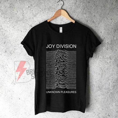 Joy Division Unknown Pleasures Shirt On Sale