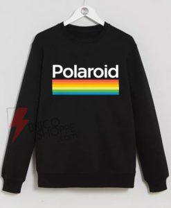 Rainbow Polaroid Sweatshirt On Sale