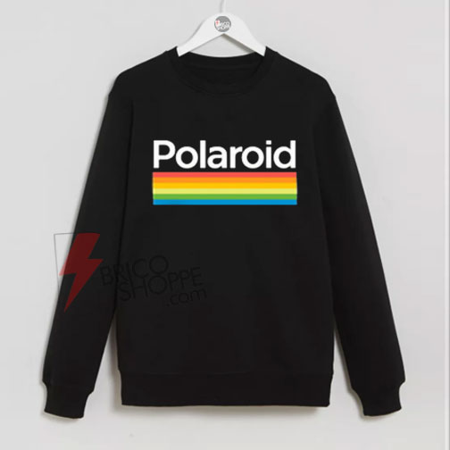 Rainbow Polaroid Sweatshirt On Sale