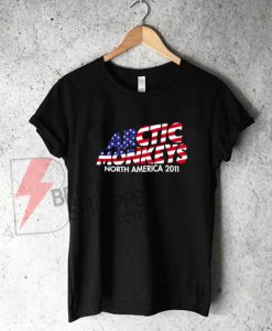 Stars And Stripes Arctic Monkeys Band T-Shirt On Sale