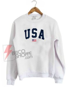 USA Flag Sweatshirt On Sale