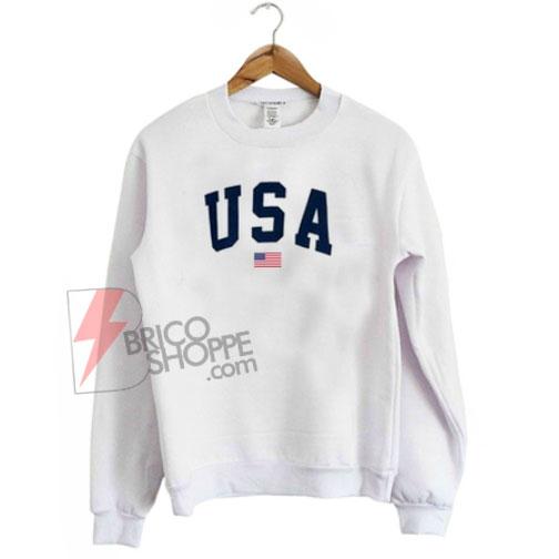 USA Flag Sweatshirt On Sale