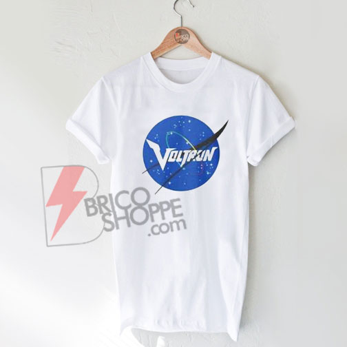 Voltron NASA parody T-Shirt On Sale