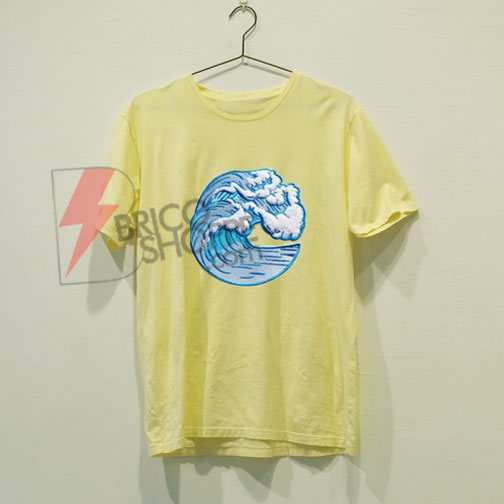 Wave shirt - great wave off Kanagawa T-Shirt On Sale