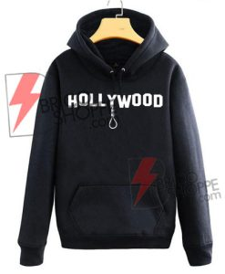 HOLLYWOOD hanging rope Hoodie On Sale