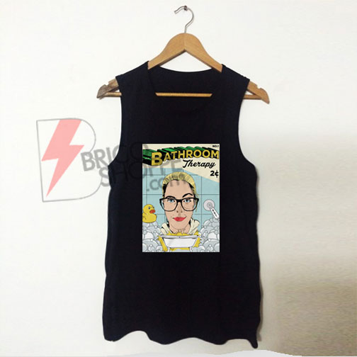 Home TV & Film Emily Bett Rickards' Bathroom Therapy Tanktop On Sale