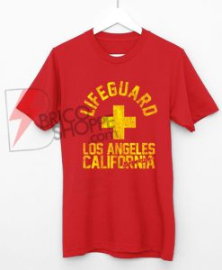 Lifeguard Los Angeles California Baywatch Shirt On Sale