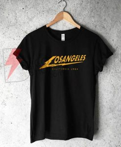 Los Angeles California 1984 T-Shirt On Sale