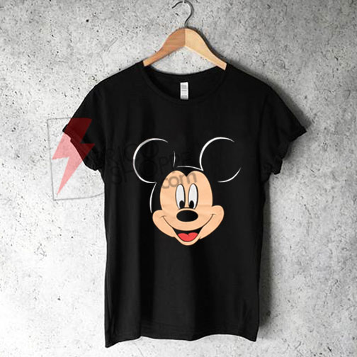 Mickey Mouse Head Shirt On Sale