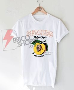 Peaches Records Shirt On Sale