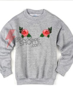 Pink-rose-Sweatshirt-on-Sale