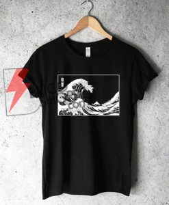 The-Great-wave-of-Kanagawa-Shirt