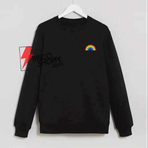 The rainbow Unisex Sweatshirts On Sale