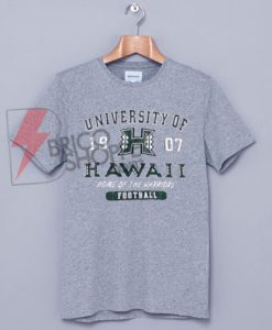 University Of Hawaii T-Shirt On Sale