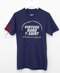 Vintage Band T-Shirt On Sale