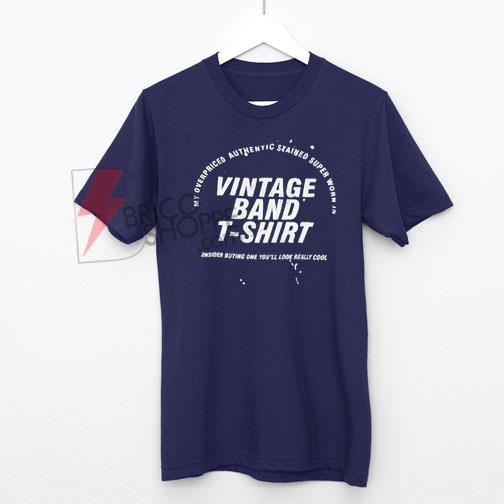 Vintage Band T-Shirt On Sale