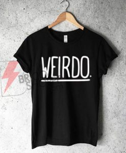 WEIRDO Shirt On sale