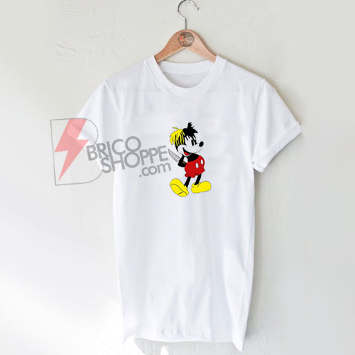 XXXTENTACION MICKY DAGGER MOUSE T-Shirt On Sale
