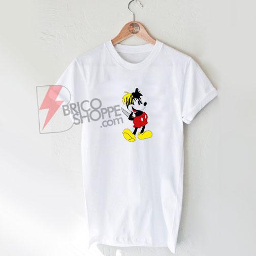XXXTENTACION MICKY DAGGER MOUSE T-Shirt On Sale