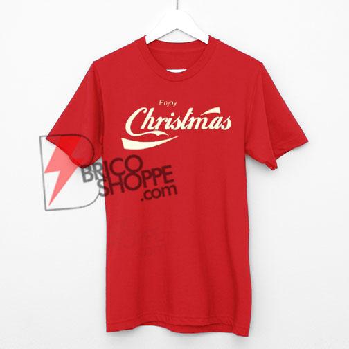 Coca-cola-Shirt,-Christmas-Shirt,-Shop-Parody-T-Shirts-On-Sale