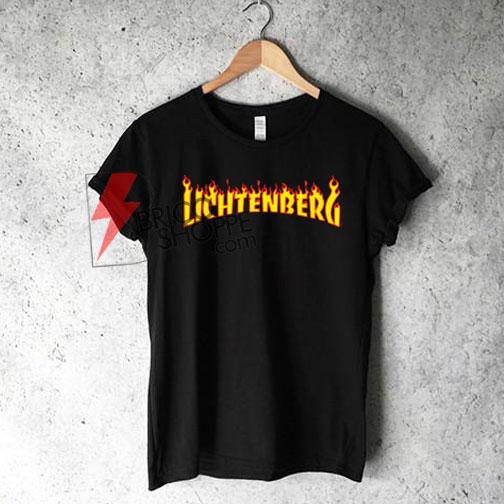 LICHTENBERG T-Shirt On Sale