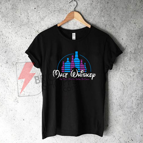 Malt Whiskey Shirt, Funny Walt Disney Shirt On Sale