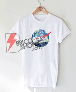 NASA Van Gogh T-Shirt , Parody NASA Shirt, Funny Shirt On Sale