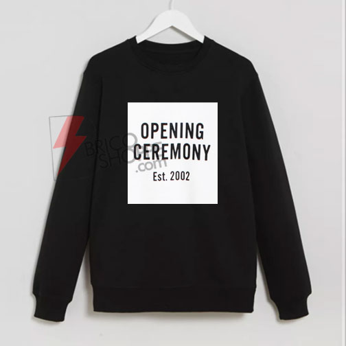 Opening Ceremony Est.2002 Sweatshirt On Sale