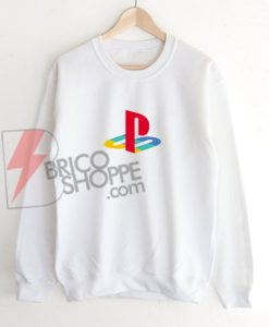 Play Station Logo Sweatshirt On Sale