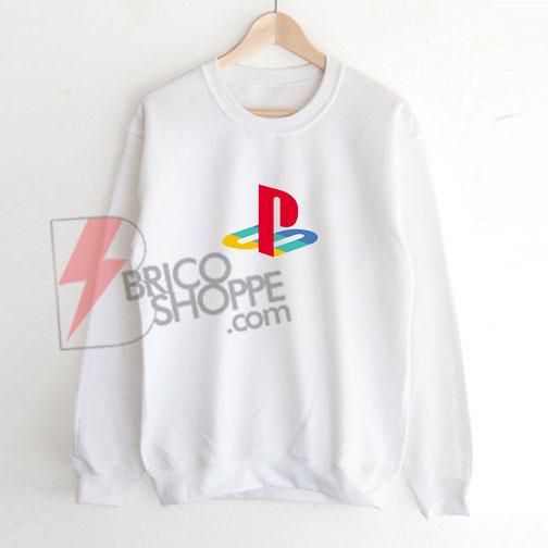 Play Station Logo Sweatshirt On Sale